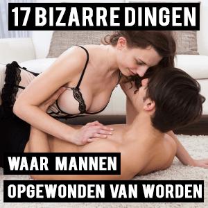 vrouw geeft een man een blow job