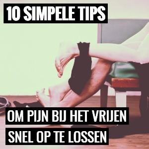 Hier zijn 10 simpele tips om bij het vrijen en tijdens seks snel op te lossen.